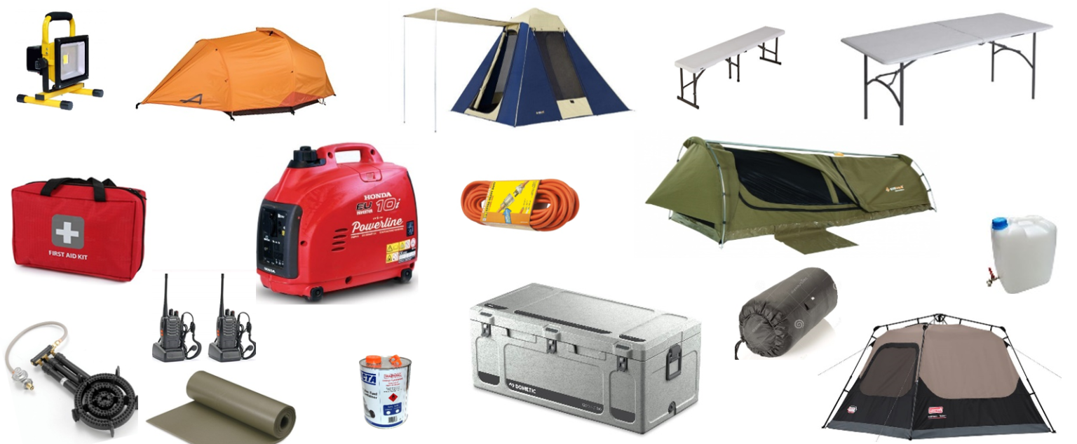 Camping Equipment Hire Adelaide