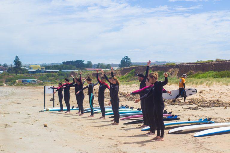 Students Explore Australia - Surf Camp (66)