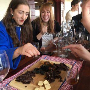 Chocolate and Cheese Wine Tour 1