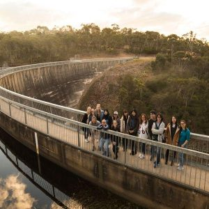 Langhorne-Creek-wine-tour-Students-Explore Australia