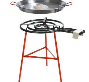 Paella Pan and Burner Stand - Camping Equipment Hire Adelaide